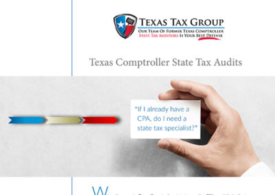 Texas State Tax Audit: If I Have a CPA, Do I Need a State Tax Specialist?